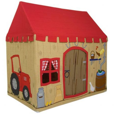 Kids Quality Adventure Barn Garden Playhouse